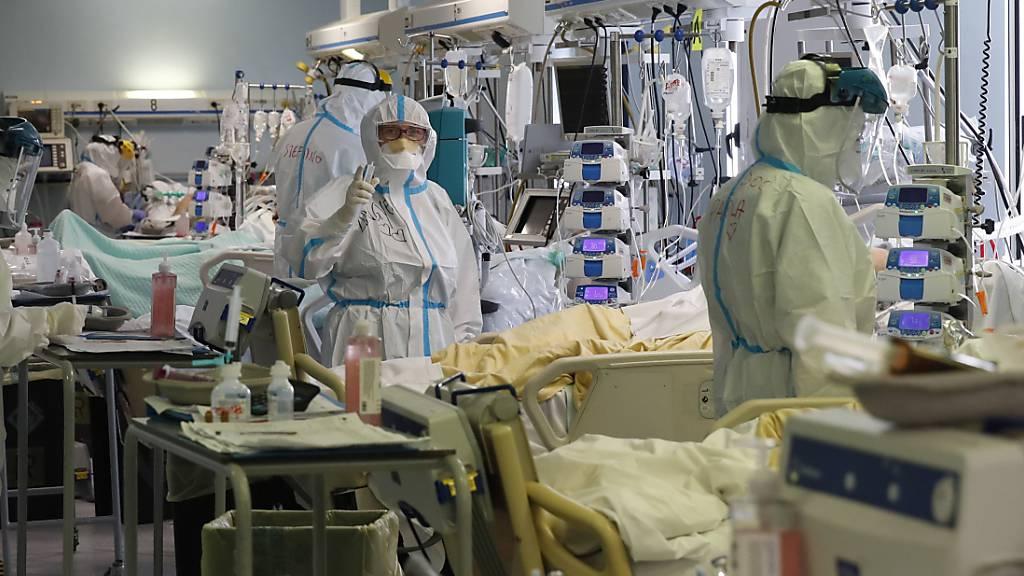 Neue Höchstmarke: Mehr als 30'000 Corona-Neuinfektionen in Italien