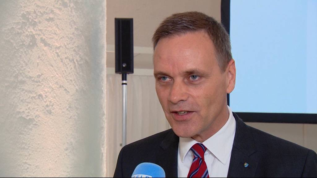 Wiedergewählter Jean-Pierre Gallati (SVP): «Ich gratuliere Dieter Egli zur Wahl»