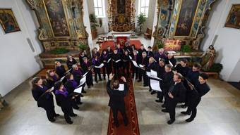 Die Sängerinnen und Sänger der Kantorei der reformierten Stadtkirche Solothurn.