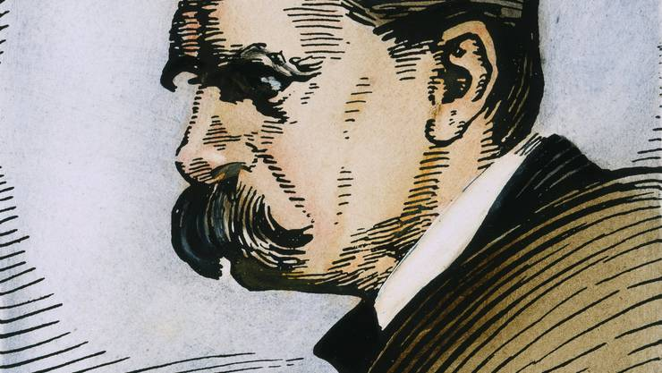 Friedrich Nietzsche (1844–1900). Bild: Keystone/The Granger Collection