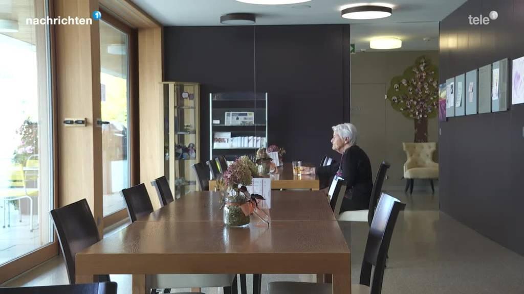 Erneutes Besuchsverbot beschäftigt Alters-und Pflegeheime