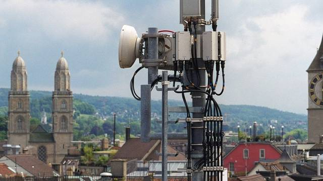 Handy-Antenne in Zürich (Symbolbild aus dem Archiv)