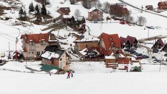 Skifahren im Kosovo