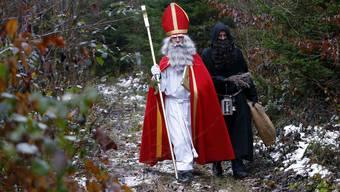 Auch in diesem Jahr ist der Samichlaus mit den Schmutzlis in der Region unterwegs.