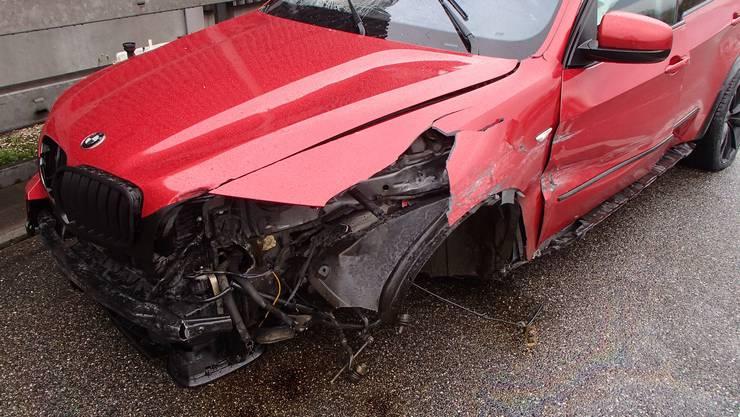 Ein 37-jähriger Kosovare verlor auf der A1 die Kontrolle über seinen BMW.
