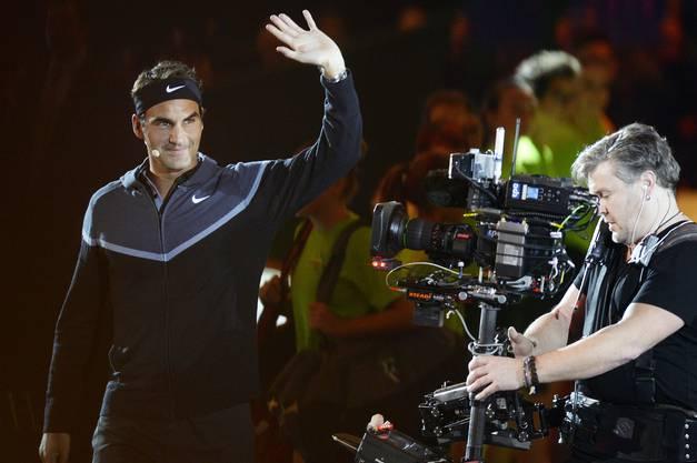 """""""Match for Africa 2"""": Impressionen vom Benefizmatch zwischen Roger Federer und Stan Wawrinka."""