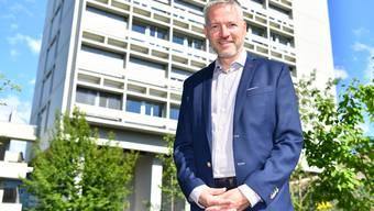 Will das Potenzial Oltens besser nutzen: Thomas Marbet auf der Terrasse des Stadthauses.