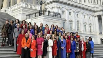 Die weiblichen Mitglieder des US-Kongresses