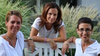 Maren Tromm, Valeria Brunold und Rosalba Russo werden den Vorstand der Elternrunde Baden-Wettingen übernehmen.