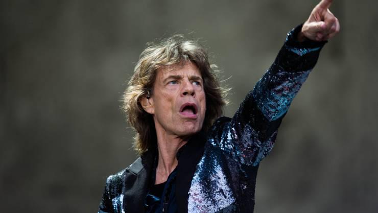 Rolling-Stones-Frontmann Mick Jagger (Archiv)
