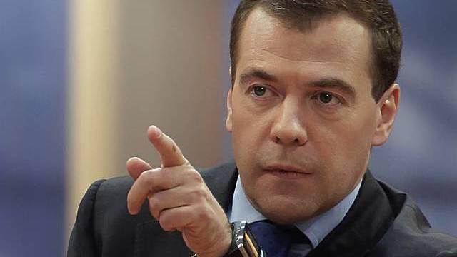 Der russische Präsident Dmitri Medwedew (Archiv)