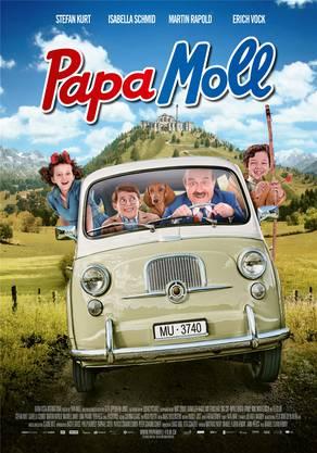 Das Hauptpalakt zum Papa-Moll-Film.