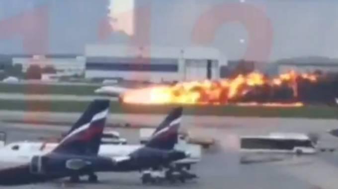 41 Menschen sterben in den Flammen des Superjets – das Unglück von Moskau im Überblick