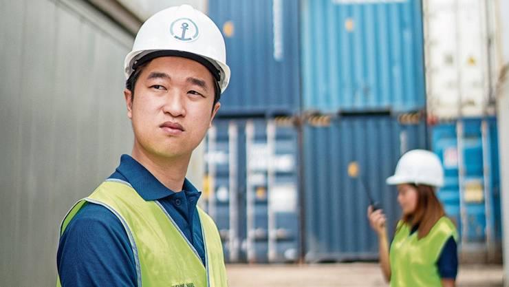 Containerhafen in China: In der Seefracht sind wieder grössere Kapazitäten gefragt.