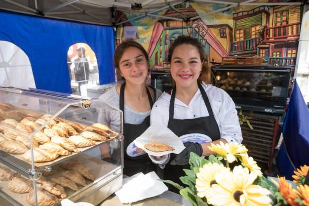 Empanadas, Spezialitäten aus Argentinien am Street Food Festival Olten