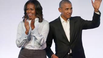 Michelle Obama kann auch Sport: Die einstige First-Lady hat mit einem US-amerikanischen Team aus Schauspielerinnen ein Völkerballspiel gegen eine britische Mannschaft aus dem Show-Business für sich entschieden. (Archivbild)