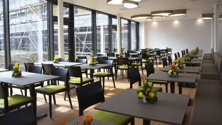 Hell und freundlich ist das neue Restaurant Süssbach