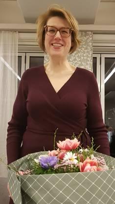 Désirée Stutz referierte und gab Einblick in die Aufgaben und Abläufe im Grossen Rat und der SVP Fraktion