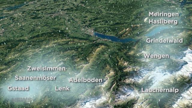 Grosse Saisoneröffnung im Berner Oberland