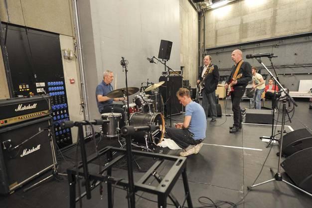 Der Soundcheck der «Countdowns» geht schnell über die Bühne.