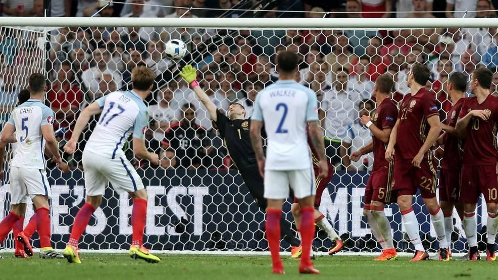 Eric Dier schoss das Freistosstor für England.
