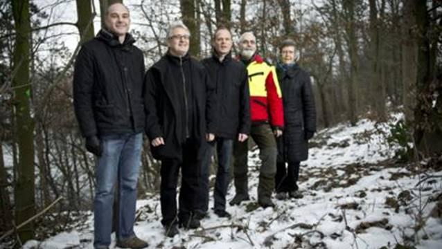 Urs Heimgartner, Christoph Busenhart, Marco Kaufmann, Philipp Vock und Doris Steinacher (v.l.) sind alle am Projekt beteiligt.