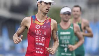 Der Spanier Mario Mola wurde zum dritten Mal in Serie Kurzdistanz-Weltmeister