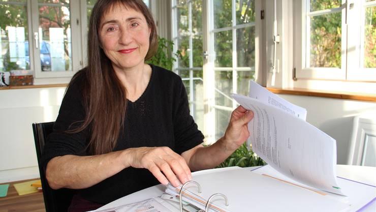 Lilian Straub, Gründerin des vor sechs Jahren ins Leben gerufenen Projekt «altissimo».