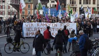 Demo in Basel am Welt-Frauentag 2018
