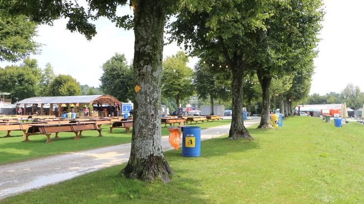 Der Heitere-Platz ist eines der schönsten Festival-Gelände der Schweiz