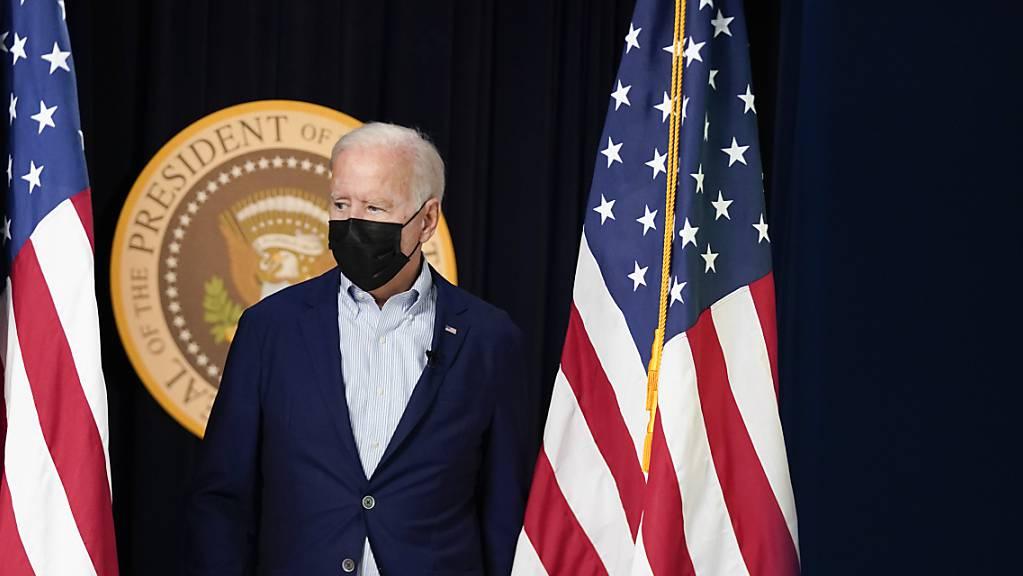 US-Präsident Joe Biden hält einen weiteren Terroranschlag vom IS für «sehr wahrscheinlich».