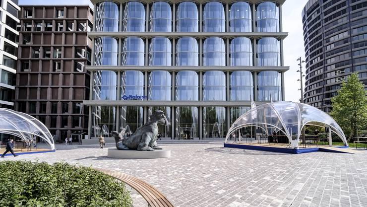 Der Baloise Park beim Bahnhof SBB wurde am Mittwoch, 16. September, eröffnet.