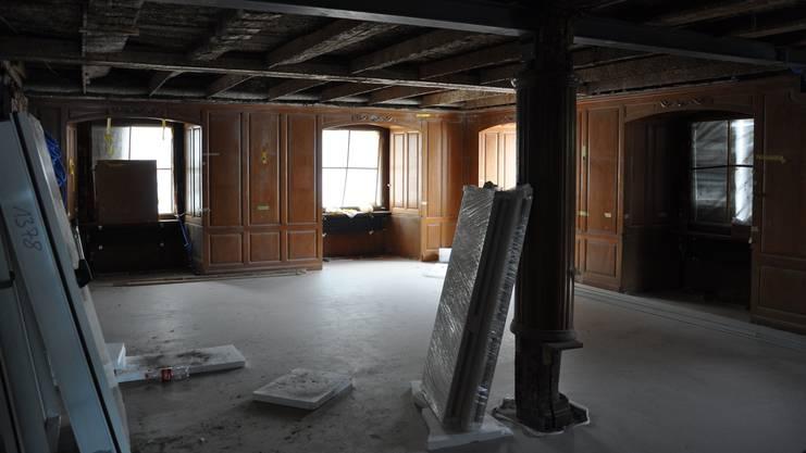...oder die 2010 wiedereröffnete «Krone» (hier ein Bild aus der Umbauzeit).