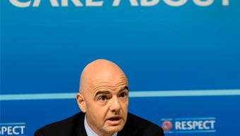 Die Uefa setzt für der Blatter-Nachfolge auf den nächsten Schweizer: Gianni Infantino.