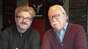 Die Beiden stehen weiterhin gemeinsam hinter der Kulturfabrik Kofmehl. (Archivbild)