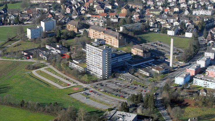 Das alte Bürgerspital Solothurn. 2012 hat das Stimmvolk dem Kredit von 340 Millionen Franken für ein neues Bürgerspital zugestimmt.