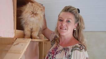 Astrid Becker, Präsidentin des Aargauer Tierschutzvereins