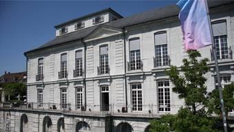 Die Terrasse des Palais Besenval dürfte diesen Sommer nur bei gebuchten Veranstaltungen von Gästen besucht sein.