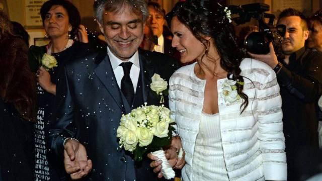Andrea Bocelli und Veronica Berti haben sich das Jawort gegeben
