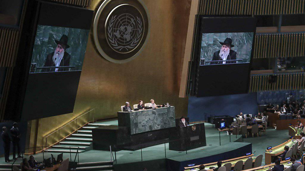 46 Staaten stehen hinter einem Uno-Abkommen zur künftigen Lösung von Handelsstreitigkeiten. (Symbolbild)