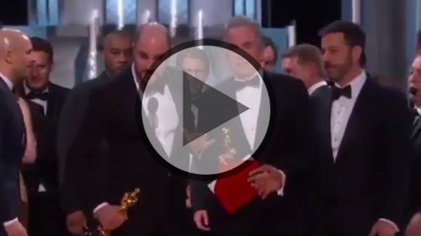 Oscars: Riesige Verwirrung beim besten Film