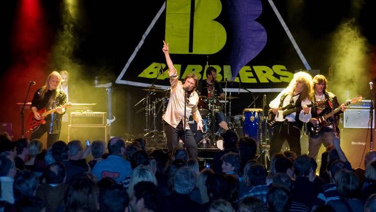 Als Rolling-Stones-Coverband taten sich die «Babblers» 1962 zusammen – am Freitag feierten sie ihren Abschied. Hansjörg Sahli Als Rolling-Stones-Coverband taten sich die «Babblers» 1962 zusammen – am Freitag feierten sie ihren Abschied. Hansjörg Sahli
