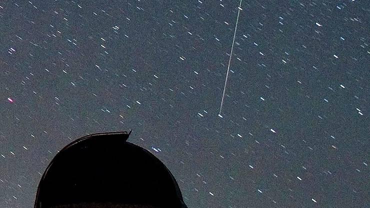 Flüchtige Schönheit: Meteor.