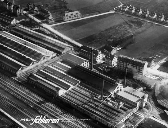 Das Schlieremer Traditionsunternehmen trug den Namen der Stadt in die ganze Welt hinaus. Quelle © Historic Schlieren
