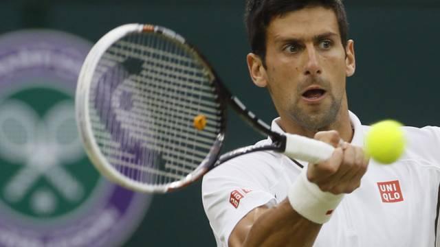 Novak Djokovic übersteht 2. Runde ohne Probleme.