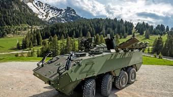 Das neue Mörsersystem für die Schweizer Armee kann ab 2024 an die Truppe gehen.