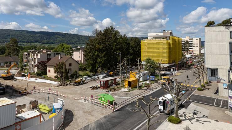 Bild des Baufeld Ost, Aufgenommen am 4. Mai 2020 an der Huebwiesenstrasse 34 in Geroldswil.