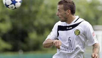 Bruno Valente erzielte für die Schaffhauser den 1:1-Ausgleich