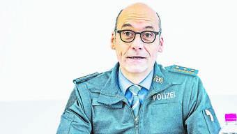 Polizeikommandant Martin Roth leitet den Basler Krisenstab.