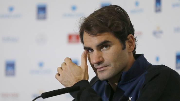 Roger Federer hat es angesichts der jungen Tennis-Generation die Sprache verschlagen.